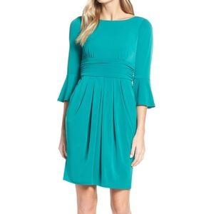 Eliza J Bell Sleeve Knit Sheath Dress Plus size